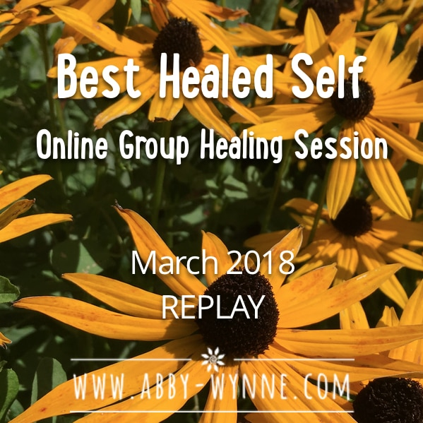 OGHSMarch2018 – REPLAY – Best Healed Self