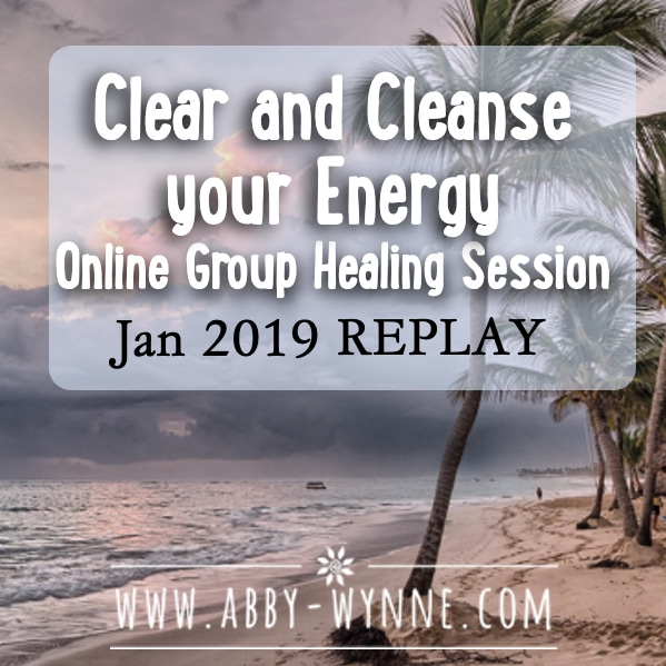 OGHSJanuary2019 – REPLAY – Clear and Cleanse your Energy