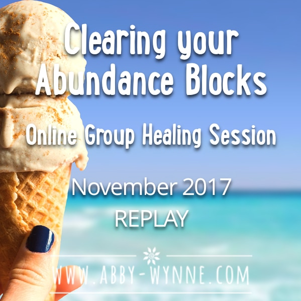 OGHSNovember2017 – REPLAY – Clearing Your Abundance Blocks