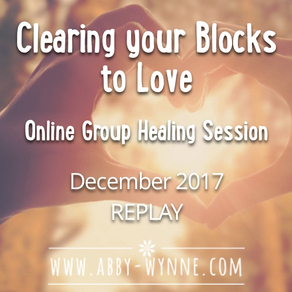 OGHSDecember2017 – REPLAY – Clearing your Blocks to Love Group