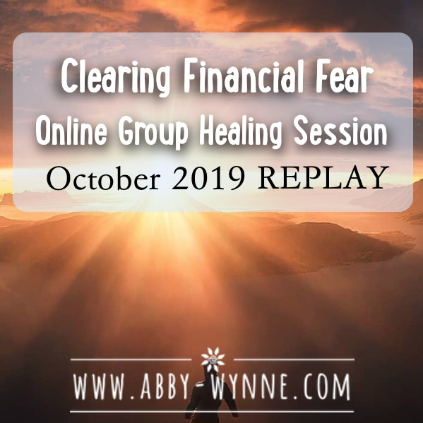 OGHSOctober2019 – REPLAY – Clearing Financial Fear