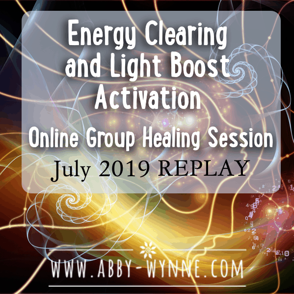 OGHSJuly2019 – REPLAY – Energy Clearing and Light Boost Activation