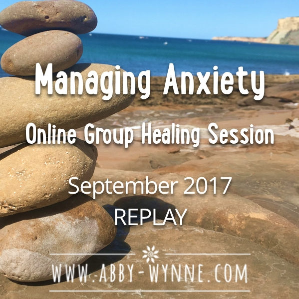 OGHSApril2017 – REPLAY – Manage Anxiety