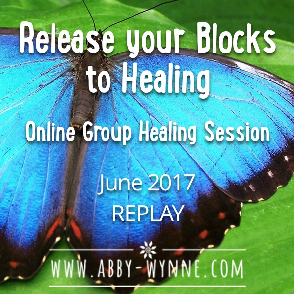 OGHSJune2017 – REPLAY – Release your Blocks to Healing