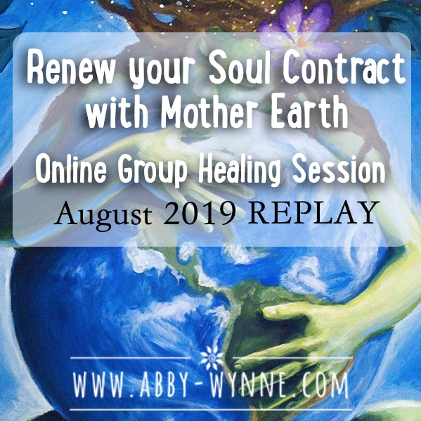 OGHSAugust2019 – REPLAY – Renew your Soul Contract with Mother Earth