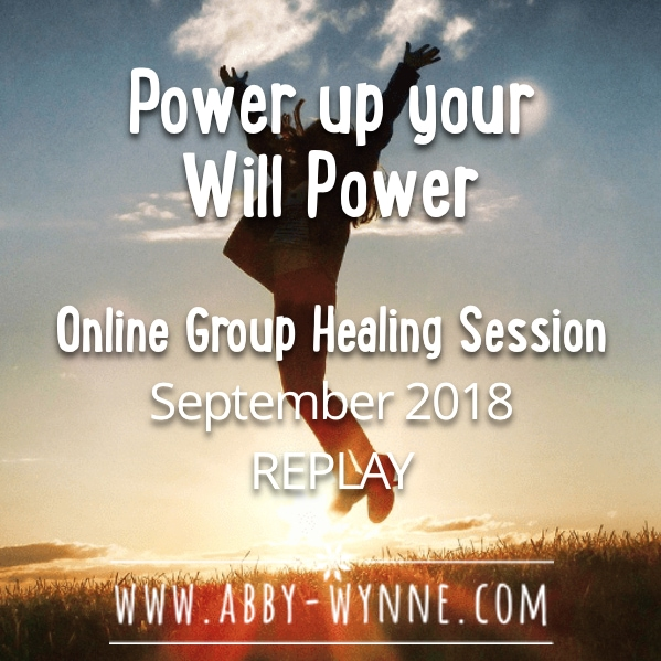 OGHSSeptember2018 – REPLAY – Power up your Will Power