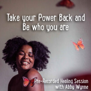 take your power back and be who you are